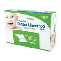 Bumkins - Flushable Diaper Liner 100 pack - Biodegradable