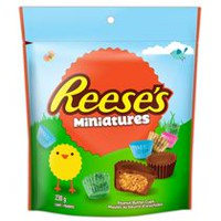 Easter REESE Miniatures Peanut Butter Cups Chocolate