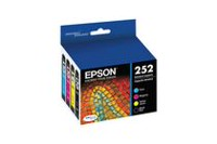 Epson T252120-BCS Standard-Capacity Black and Colour Combo-Pack Ink Cartridges