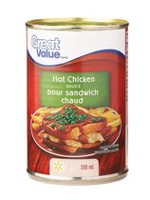 Sauce au poulet chaud de Great Value