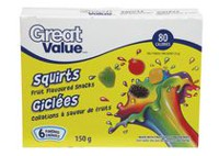 Great Value Squirts Fruit Snacks