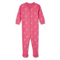 George Baby Girls' Full-Zip Sleeper