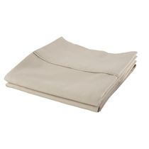 hometrends Cotton Percale Pillowcases Taupe Standard