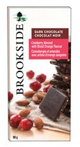 Brookside Cranberry Almond with Blood OrangeDark Chocolate Bar