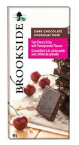 Brookside Tart Cherry Crisp with Pomegranate Dark Chocolate Bar