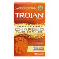Condoms TROJAN Lubrifiant haut de gamme CHARGED