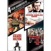 4 Film Favorites: War Heroes - Kelly's Heroes / Where Eagles Dare / The Big Red One / The Hanoi Hilton