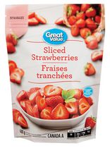 Great Value Sliced Strawberries