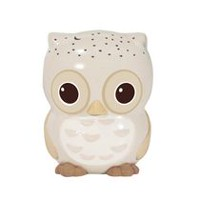Cloud B Twilight Sunshine Owl™ - Mini Nightlight Natural Tan