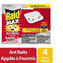 Raid Max Ant Baits Ant Killer and Trap, 4 Baits
