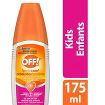 OFF! Family Care Mosquito Insect Repellent Pump Spray Kids, Tropical Fresh, 175ml