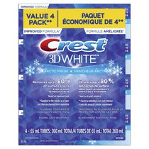 Crest 3D White, Whitening Toothpaste Arctic Fresh
