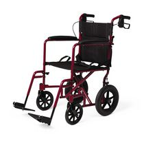 Medline Excel Deluxe Aluminum Transport Chair