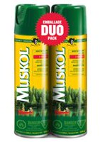 Muskol® Insect Repellent 2 x 230g Aerosol Spray