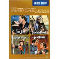 TCM Greatest Classic Legends Film Collection: Errol Flynn - Don Juan / Captain Blood / The Adventures Of Robin Hood / The Sea Hawk