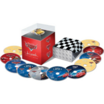 Cars 3-Movie Collector's Set: Cars / Cars Toon: Mater's Tall Tales / Cars 2 (Limited Edition) (11-Disc) (3D Blu-ray + Blu-ray + DVD + Lassetire Die Cast Car)