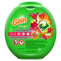 Gain Flings 3-in-1 Tropical Sunrise Laundry Detergent