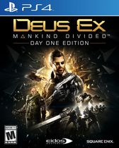 Deus Ex: Mankind Divided - Day One Edition (PS4 Game)