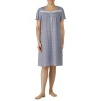 George Women's Short Sleeves Nightgown Navy L