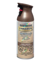 Rust-Oleum Universal All-Surface Metallic Finish - Aged Copper 312g