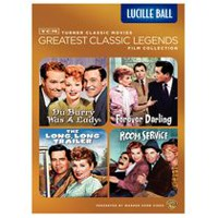 TCM Les Grandes Légendes Du Cinéma Collection De Films : Lucille Ball - The Long, Long Trailer / Forever Darling / Room Service / Du Barry Was A Lady
