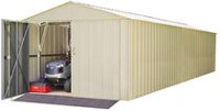 Arrow Commander Eggshell Steel Storage Shed