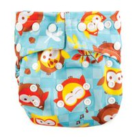 Bumkins Snap in One Couche - Hiboux
