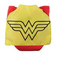 Bumkins DC Comics Caped Diaper - Wonder Woman - Reusable Diapers