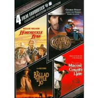 4 Films Préférés : Country Western Collection - Pure Country / Honeysuckle Rose / The Ballad Of Little Jo / Macon County Line