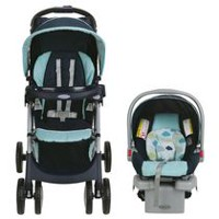 Graco® Comfy Cruiser™ Click Connect™ Travel System with SnugRide® Click 30 Infant Car Seat