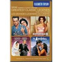 TCM Greatest Classic Legends Film Collection: Elizabeth Taylor - Cat On A Hot Tin Roof / Father Of The Bride / Butterfield 8 / The Sandpiper (Bilingual)