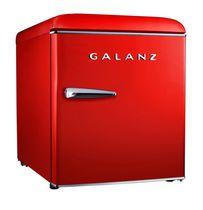 Galanz 1.7 cu ft Retro Fridge - Red