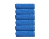Camelot 6 Piece 600 GSM Zero Twist Cotton Face Towel Set