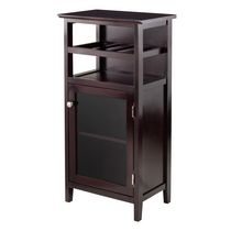 Winsome Alta Wine Cabinet in Espresso Finish - 92119