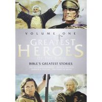 Greatest Heroes Of The Bible: Volume One - The Bible's Greatest Stories: The Ten Commandments / The Story Of Noah / David & Goliath / Samson & Deliah