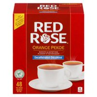 Red Rose® Orange Pekoe Decaffeinated Tea Bags
