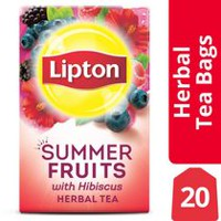 Lipton® Summer Fruits Herbal Tea Bags