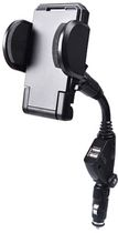 Avantree 2-in-1 Car Power Mounted Cradle with Dual USB Charger - Black