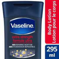 Vaseline® Intensive Care Men Repairing Moisture Extra Strength Body and Face Lotion