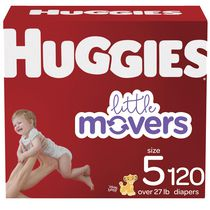 HUGGIES Little Movers Diapers, Econo Pack
