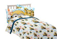 Minions Despicable Me Testing 123 Sheet Set