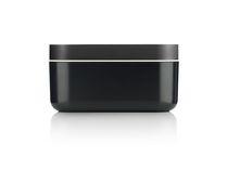 Lekue Ice Box Silicone Ice Cube Tray and Storage Box WhiteLekue Bac à glaçons et boîte de rangement en silicone