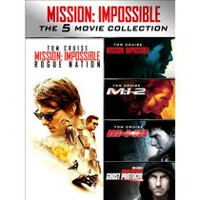 Mission: Impossible - The 5 Movie Collection (Blu-ray + Digital HD) (Bilingual)