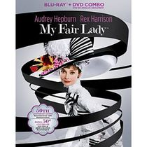 My Fair Lady : Édition 50e Anniversaire (Blu-ray de 2 Disques + DVD) (Bilingue)