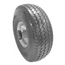 Laser Flat Free Hand/Utility Cart Tire   Size: 410 X 350 X 4