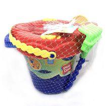 Play Day 12-Piece Beach Bucket Sand Toy Set