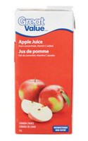 Jus pomme Great Value