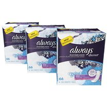Always Discreet, Incontinence Pads, Moderate, Regular Length, 198 Count