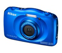 Nikon COOLPIX W100 Blue Digital Camera
