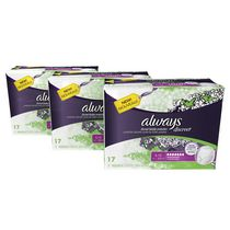 Always Discreet, Culottes pour l'incontinence, Degré d'absorption maximal, Always